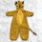 Disney Costumes | Disney Store Simba Lion King Plush Costume Cosplay | Color: Yellow | Size: 2t 4t
