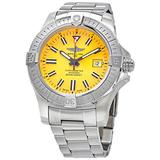 Breitling Avenger Seawolf Automatic Chronometer Yellow Dial Men's Watch A17319101I1A1