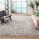 Dakota Fields Runner Aitkin Hand- Loomed Wool Gray Area Rug Wool in Brown/Gray, Size 96.0 W x 1.3 D in | Wayfair 950A555B24B44529B40EAAB0CDAB3514