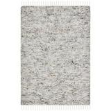 Dakota Fields Runner Aitkin Hand- Loomed Wool Gray Area Rug Wool in Brown/Gray, Size 48.0 W x 1.3 D in | Wayfair 17B9BFAFDA804B17970F718E8375C785