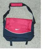 Nike Bags | Nike Messenger Notebook School College Laptop Bag | Color: Black/Red | Size: Os