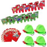 ZZY123 Catch Bugs Game Tic Tac Tongue Catch Bugs Game Eat Pest Playing Card Funny Desktop Board Games, Board Games Puzzle Game for Children, for Kids Families Interaction Toy