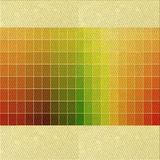 East Urban Home Striped Wool Area Rug Polyester/Wool in Yellow, Size 108.0 H x 84.0 W x 0.35 D in | Wayfair 86F6AF2491DE49D78369E4396E2E700F