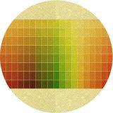 East Urban Home Striped Wool Area Rug Polyester/Wool in Yellow, Size 108.0 H x 84.0 W x 0.35 D in | Wayfair EC47A830319242B89D6050EB8DD459B3
