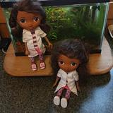 Disney Toys | African American Dolls 2 | Color: Brown/Pink | Size: 11 Tall
