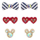 Mickey and Minnie Mouse Earring Set by Betsey Johnson - Official shopDisney®