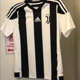 Adidas Shirts & Tops   Adidas Juventus Soccer Jersey Size L Boys Kids   Color: Black/White   Size: Lb