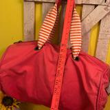 American Eagle Outfitters Bags   American Eagle Outfitters Canvas Duffel Bag Pink   Color: Pink   Size: Os