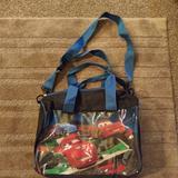 Disney Accessories   Bogonwot Duffle Bag   Color: Blue/Red   Size: Osb