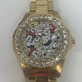 Disney Accessories | Invicta Disney Limited Edition Minnie Mouse | Color: Gold/Red | Size: Os