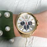 Michael Kors Accessories | Michael Kors Wren Chronograph Gold Watch | Color: Gold | Size: Os