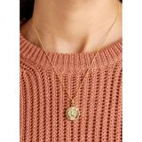Free People Jewelry   Nwt Bracha 14k Filled Medallion Initial Necklace L   Color: Gold   Size: Os