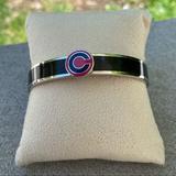 Coach Jewelry | Coach Enamel Bracelet | Color: Black/Pink | Size: Os