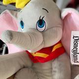 Disney Toys | Disney Dumbo Stuffed Toy | Color: Gray/Pink | Size: Osg