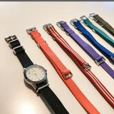 J. Crew Jewelry | J Crew Mix And Match Watch Bands | Color: Brown/Pink | Size: Os