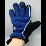 Adidas Accessories | Adidas Climawarm Size Sm Gloves Rn 90288 | Color: Black/Blue | Size: Small Medium