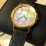 Disney Accessories | Lorus Hologram Mickey Watch | Color: Blue/Gold | Size: Os