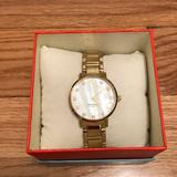 Kate Spade Accessories   Kate Spade Gold Watch With Crystal Stones   Color: Gold   Size: Os