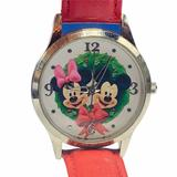 Disney Accessories | Minnie Mickey Mouse Watch Valentines Disney Japan | Color: Red/White | Size: Os