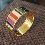 Coach Jewelry | Coach Band Bracelet | Color: Gold | Size: Os