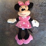 Disney Toys   Minnie Mouse Stuffed Toy   Color: Black/Pink   Size: Osbb