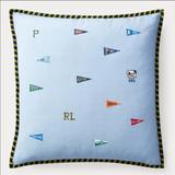 Polo By Ralph Lauren Bedding | Last One! Nevil Ralph Lauren Pillow | Color: Blue | Size: 20 X 20