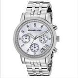 Michael Kors Accessories   Michael Kors Ritz Mk 5020 Women'S Watch   Color: Silver/White   Size: Os
