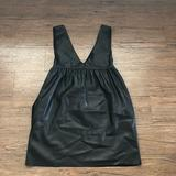 Zara Dresses | Mini Babydoll Dress- With Pockets | Color: Black | Size: S
