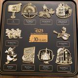 Disney Other   Disney D23 Fan Club Pin Set   Color: Orange   Size: Os