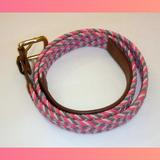 J. Crew Accessories | J. Crew Woman'S Knit Belt | Color: Brown/Pink | Size: Os