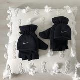 Nike Accessories | Nike Youth Fleece Fingerless Gloves + Mittens | Color: Black | Size: Osb