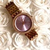 Michael Kors Accessories   Michael Kors Watch   Color: Gold/Pink   Size: Os