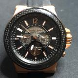 Michael Kors Accessories   Michael Kors Kinetic Watch Steel And Carbon Fiber   Color: Black   Size: Os