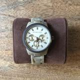Michael Kors Accessories | Michael Kors Ritz Sand Watch Mk5641 | Color: Cream/Tan | Size: Os