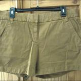 J. Crew Shorts   J Crew Chino Shorts Size 8 Honey Brown   Color: Brown/Tan   Size: 8