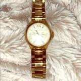 Michael Kors Accessories | Michael Kords Womens Analogue Watch | Color: Gold | Size: Os