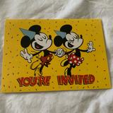 Disney Other   Mickeys 90th Birthday Invitation!   Color: Yellow   Size: Os