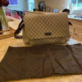 Gucci Bags   Gucci Diaper Bag (Laptop Bag)   Color: Brown/Tan   Size: Os