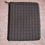 Coach Accessories | Ipad Case | Color: Black/Gray | Size: Os