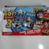 Disney Games | Cardinal Disney Pixar Game Card Game Puzzle Set | Color: Blue/White | Size: Os