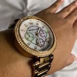 Michael Kors Jewelry | Michael Kors Womens Wrist Watch | Color: Gold/Pink | Size: Womens Wrist