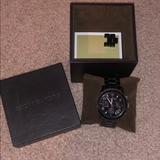 Michael Kors Accessories | Michael Kors Black Titanium Watch | Color: Black | Size: Os