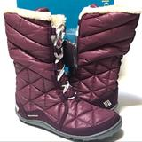 Columbia Shoes   Columbia Powder Sumitt Ii Mid Boots   Color: Purple   Size: 7