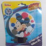 Disney Other | Disney Junior Mickey Mouse Led Nightlight | Color: Blue/White | Size: Os