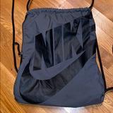 Nike Bags   Nike Gym Bag (Used Once)   Color: Black/Gray   Size: Os