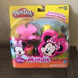 Disney Toys | Play-Doh Disney Minnie Mouse Stamp & Cut | Color: Black/Pink | Size: Osg