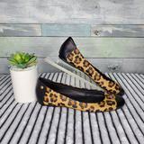 Coach Shoes   Coach Animal Print Black Cap Flats Size 8b   Color: Black/Brown   Size: 8