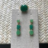 Kate Spade Jewelry   Kate Spade Emerald Green Earrings And Ring Set   Color: Green   Size: Os