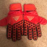 Adidas Other | Goalkeeper Gloves | Color: Orange | Size: 7