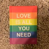 Urban Outfitters Other   Love Is All You Need Quote Book   Color: black   Size: Os